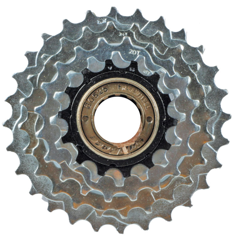 Sunrace 5 speed freewheel english threaded 14-28