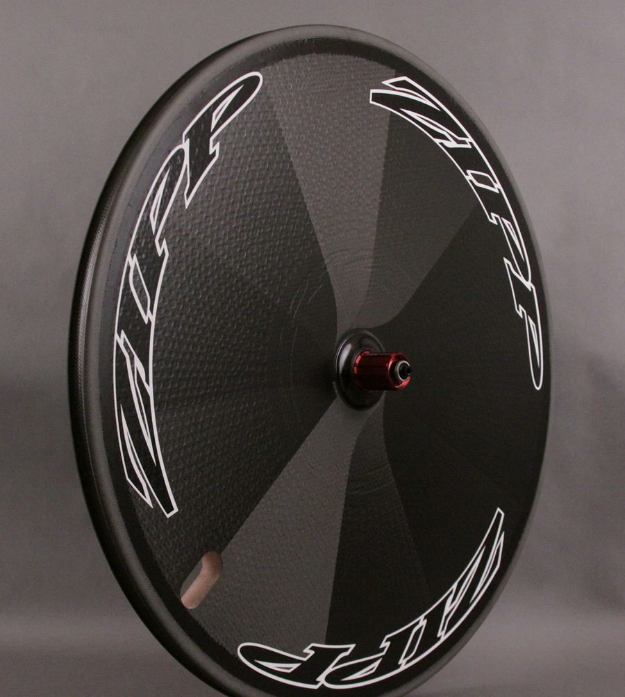 2012 Zipp Super-9 Disc Carbon Clincher Rear Wheel SRAM Cassette