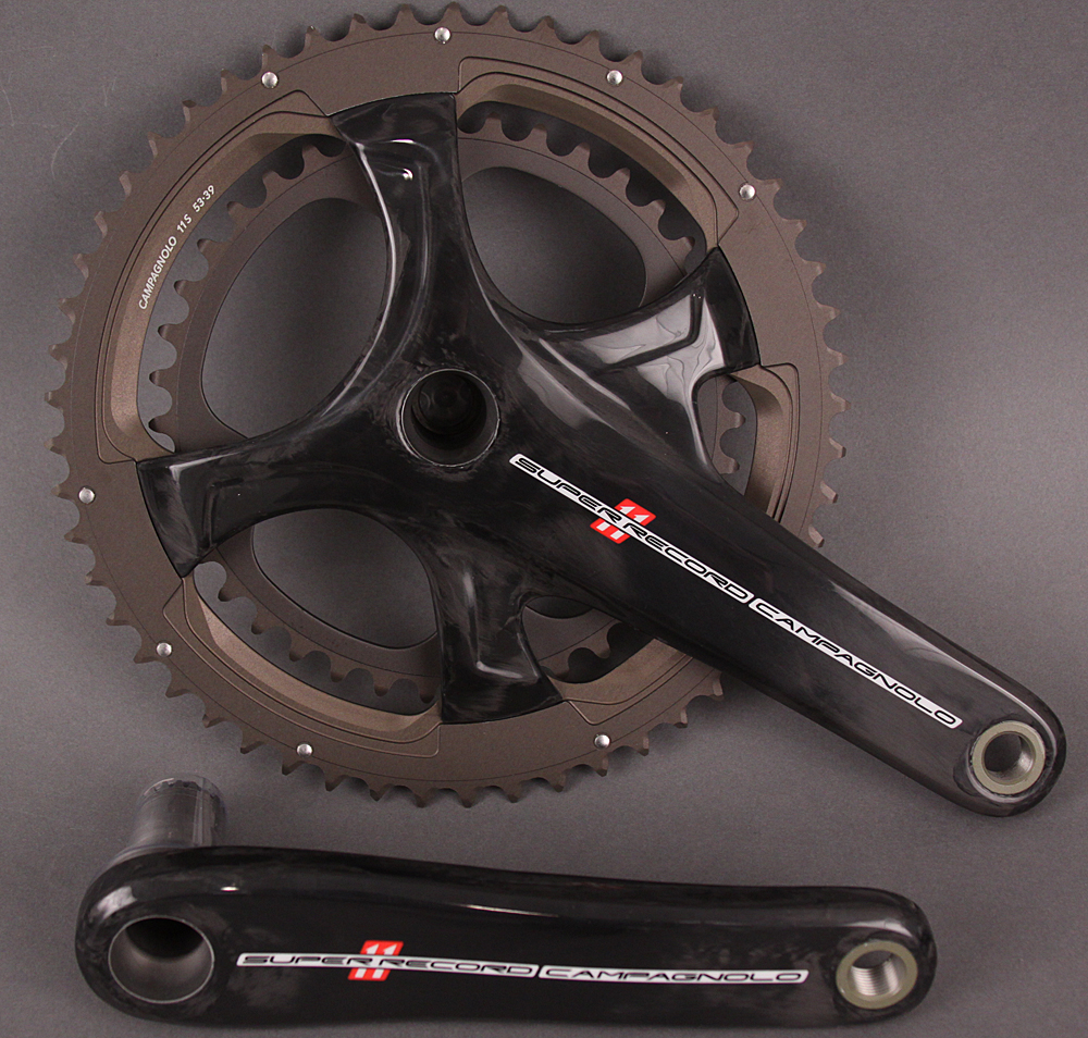 Campagnolo Super Record 11 Speed Road Bike Crankset 170 39/53