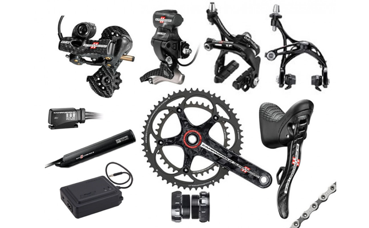 Campagnolo EPS V2 Super Record Titanium Full Groupset 2014 170mm