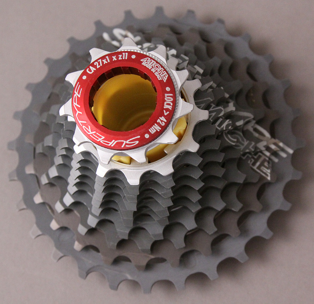 Miche Supertype Cassette 11-23 Campagnolo Spline For Race Day!