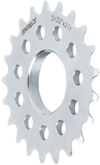 Surly Track Cog 3/32'' X 21t Silver Fixed Gear