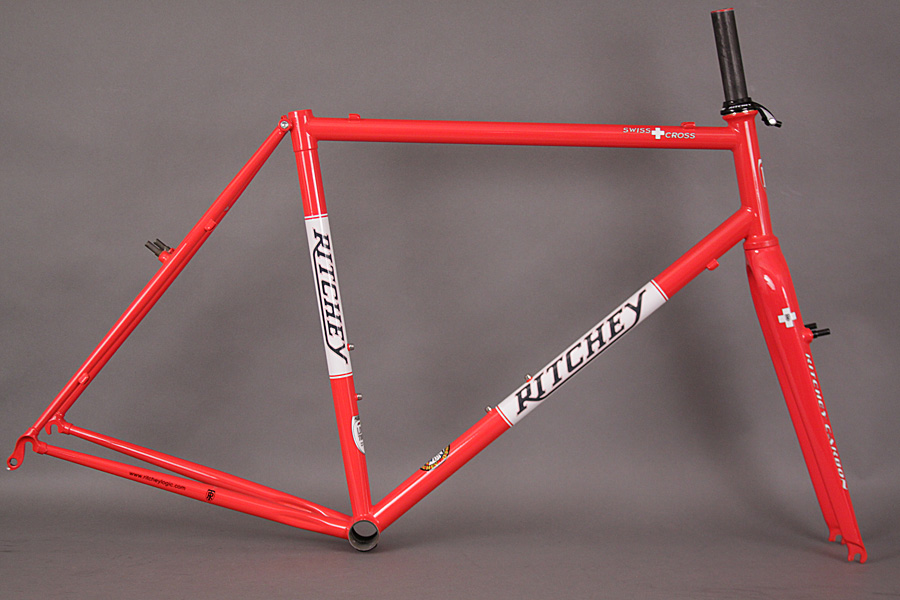 2013 Ritchey Swiss Cross Steel Frame & Carbon Fork