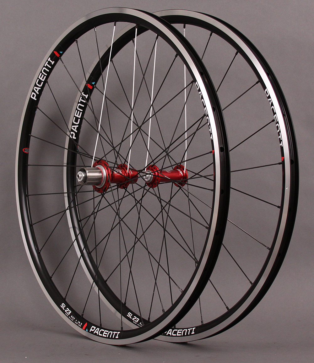 H Plus Son Archetype White Ind Red T11 hubs Sapim CX Ray