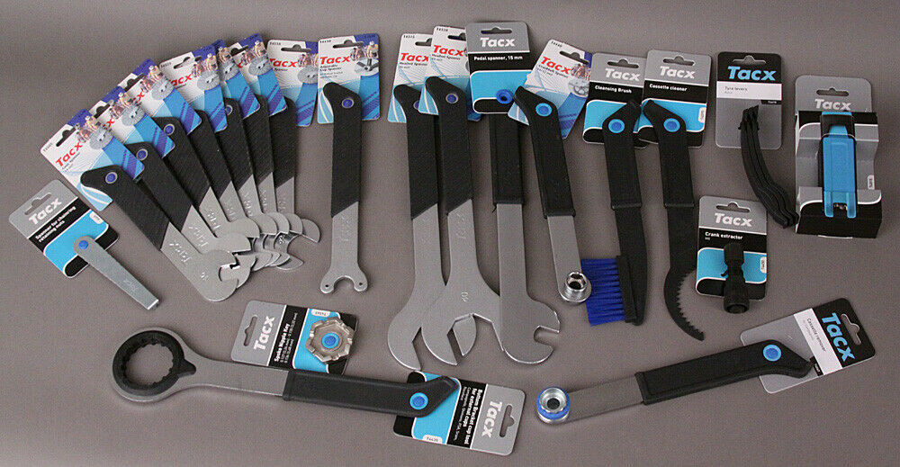 Tacx Tool Bicycle Mechanic Tool & Cleaning Kit 21 Pieces!