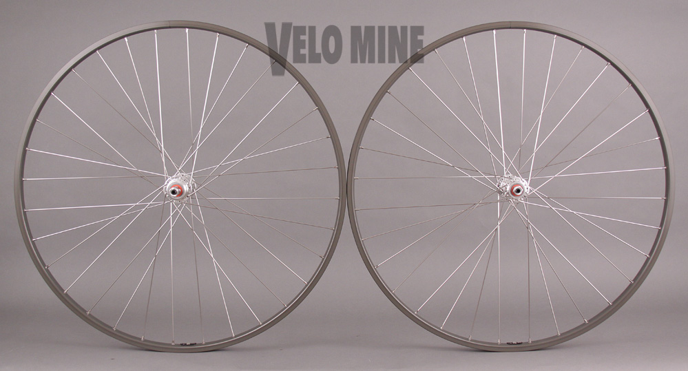 H Pllus Son TB14 Hard Ano 5 6 7 speed vintage Road Bike Wheelset