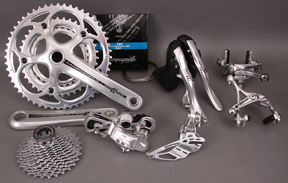 Campagnolo Athena 11 Speed Triple Silver Alloy Group