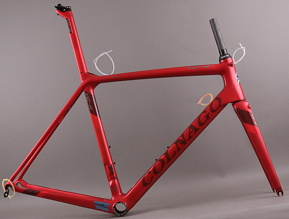 Colnago V2-R Show Sample Frameset TNMR Art Deco Red 50 Sloping