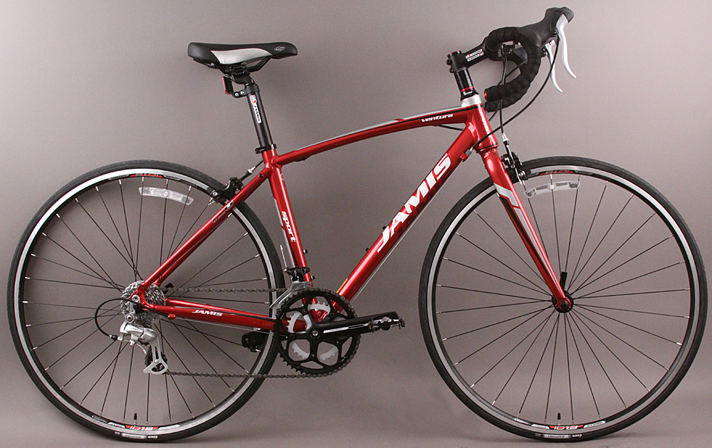 Jamis Ventura Sport Road Bike Shimano 8 Speed 44cm Monterey Red