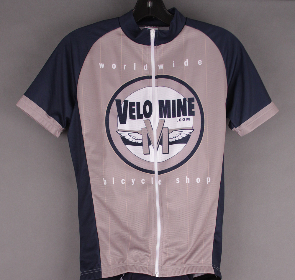 Velo Mine Cycling Jersey European Race Cut