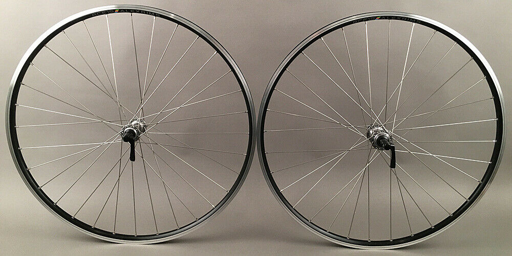ALEX Ace 19 Black Hybrid Bike Wheelset 32 Hole 100-135