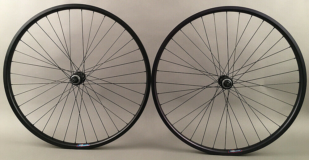 "Heavy Duty Velocity Cliffhanger 27.5"" Disc Brake Bike Wheels QR"