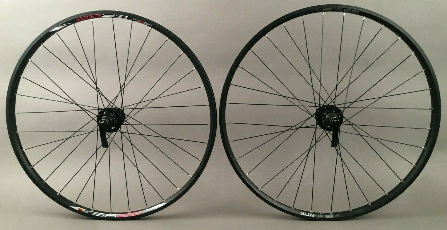 "Sun Ringle SR25 Mountain Bike Wheelset 26"" Quick Release"
