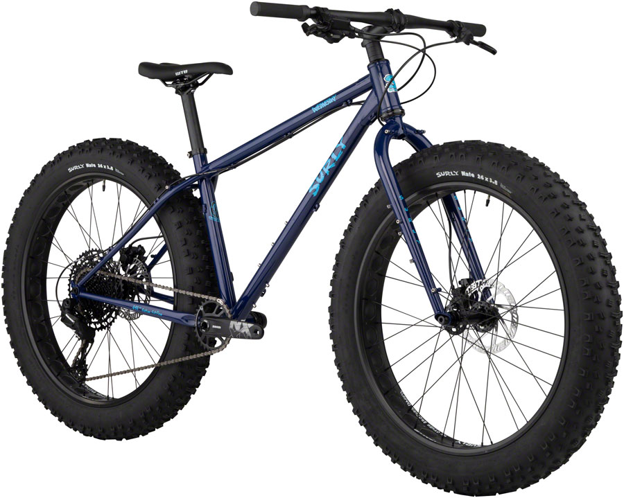 "Surly Wednesday Fat Bike 26"" Blue Monday X-Large"