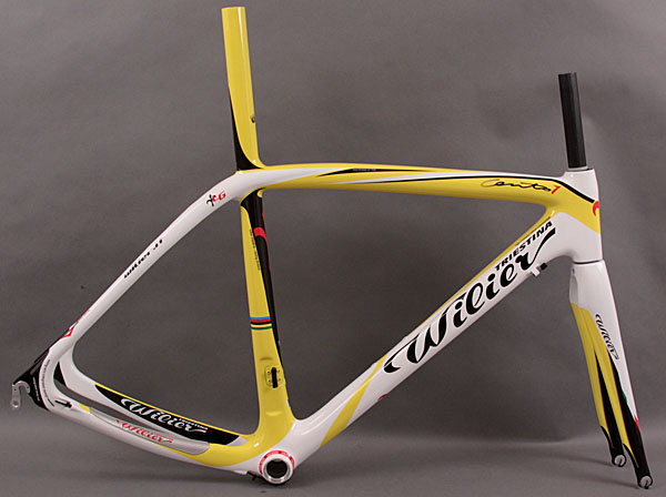 2011 Wilier Cento 1 Frame and Fork Yellow