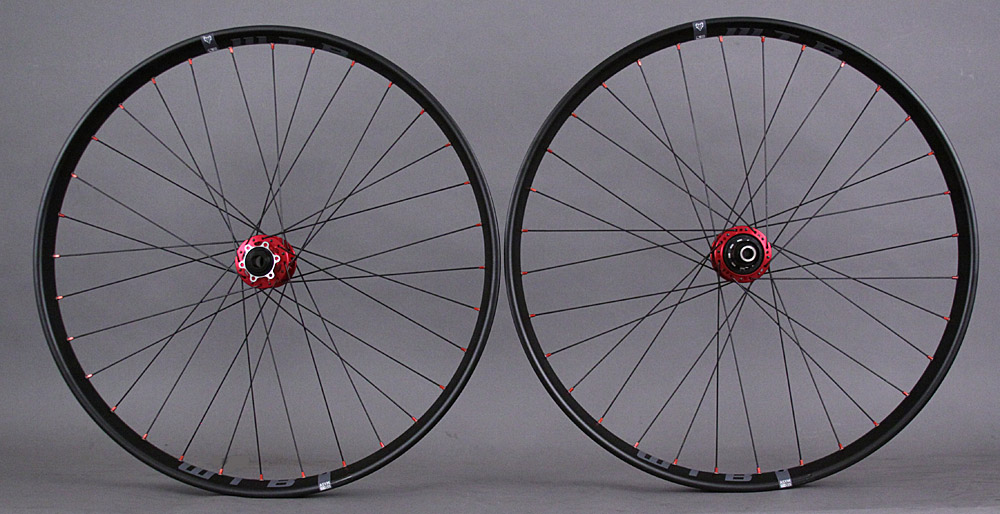 WTB Asymmetric I35 27.5 650b Wheels Novatec Thru Axle