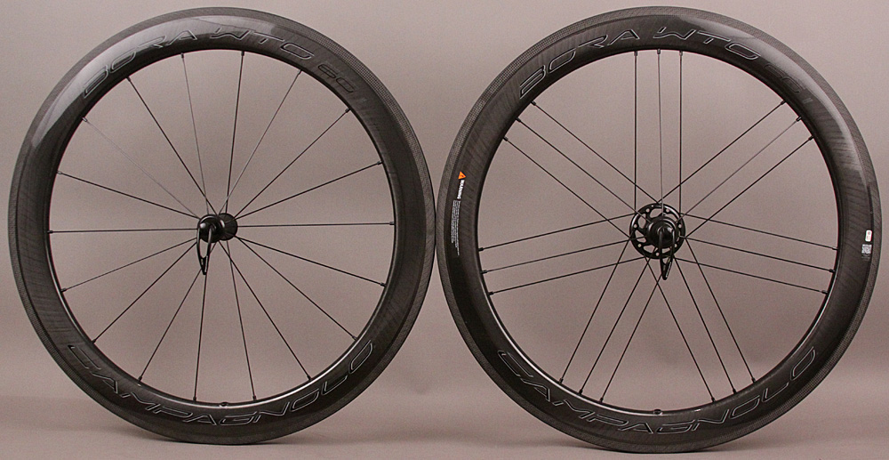 '19 Campagnolo Bora WTO 60 Carbon Clincher Wheelset USB Bearings