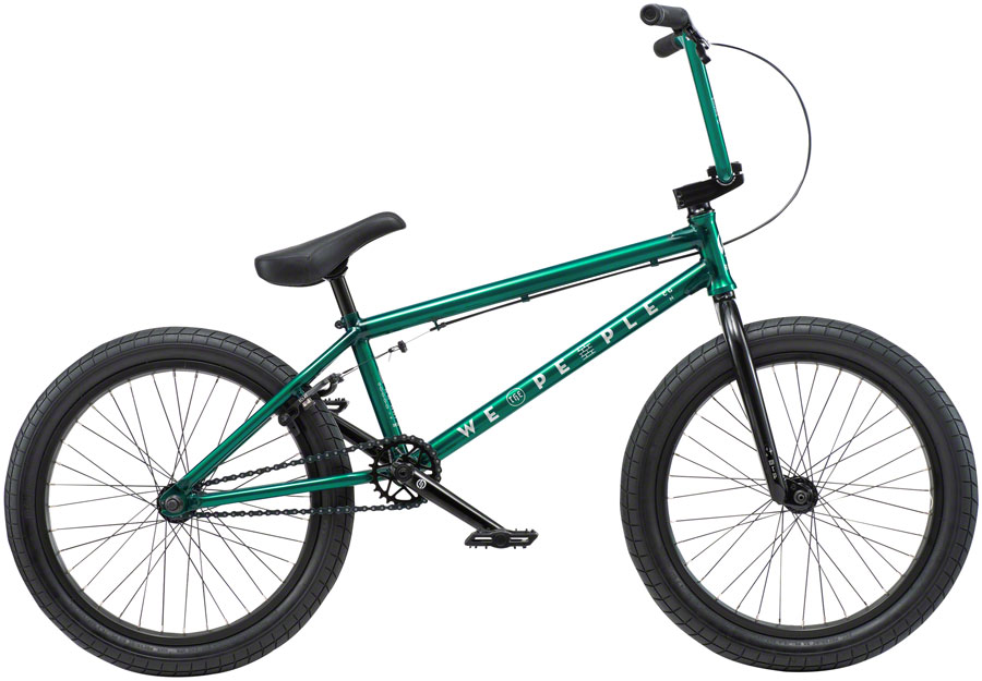 "We The People Arcade Steel BMX Bike 20.5"" TT Green"