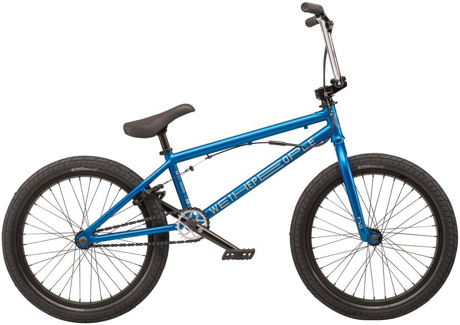"We The People CRS FS Steel BMX Bike 20.25"" TT Metallic Blue"