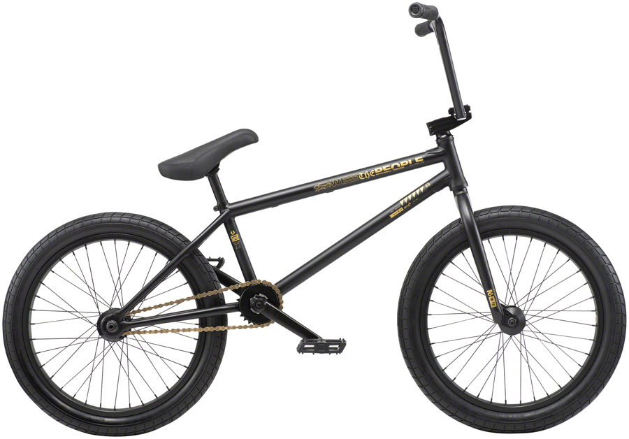 "We The People Reason Steel BMX Bike 20.75"" TT Matte Black"