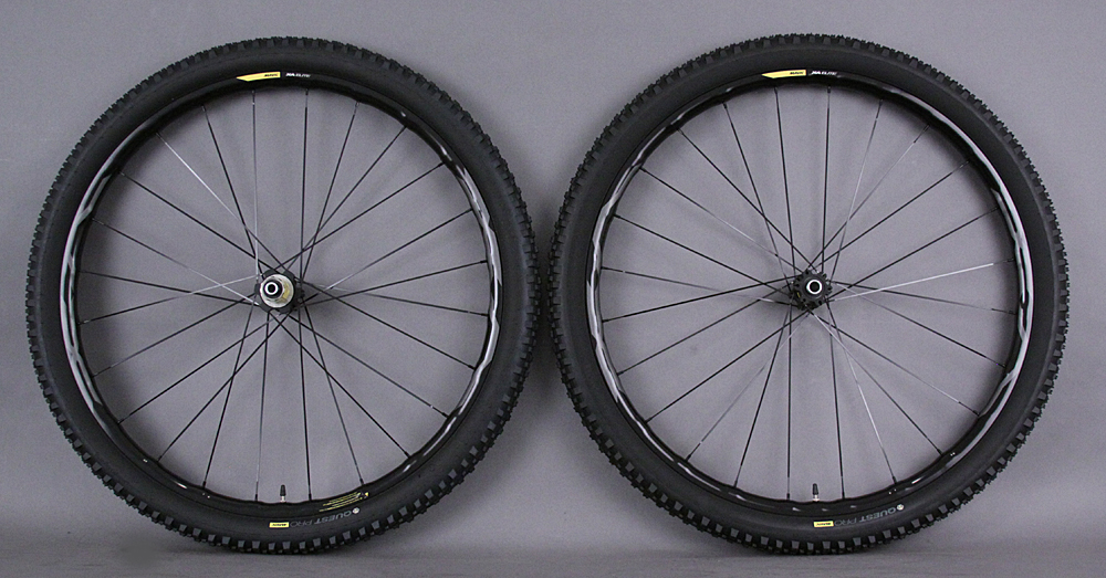 Mavic XA Elite 29er Wheelset 12x100 FT/12x135 RR Thru axle & QR