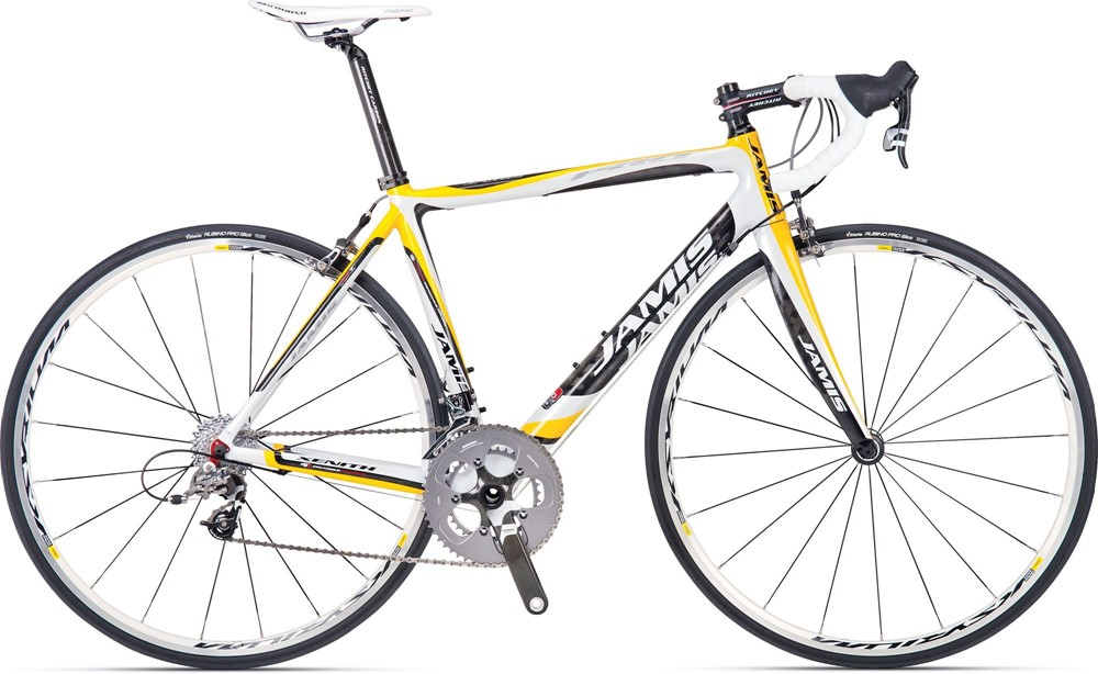 Jamis Xenith Pro Road Race Bike SRAM Force 48cm Yellow/White