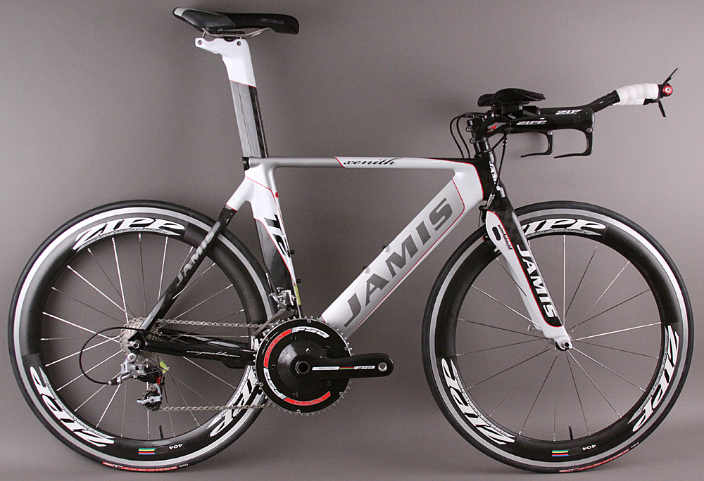 New 2009 Jamis Xenith T2 Time Trial Bike Zipp 404 SRAM Red XS