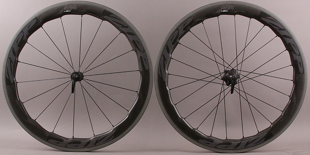 2018 Zipp 454 NSW Carbon Clincher Road Bike Wheelset 1525g